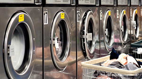 history of the laundry shops A self-service laundry, coin laundry, or coin wash is a facility where clothes are washed and dried without much personalized professional help.